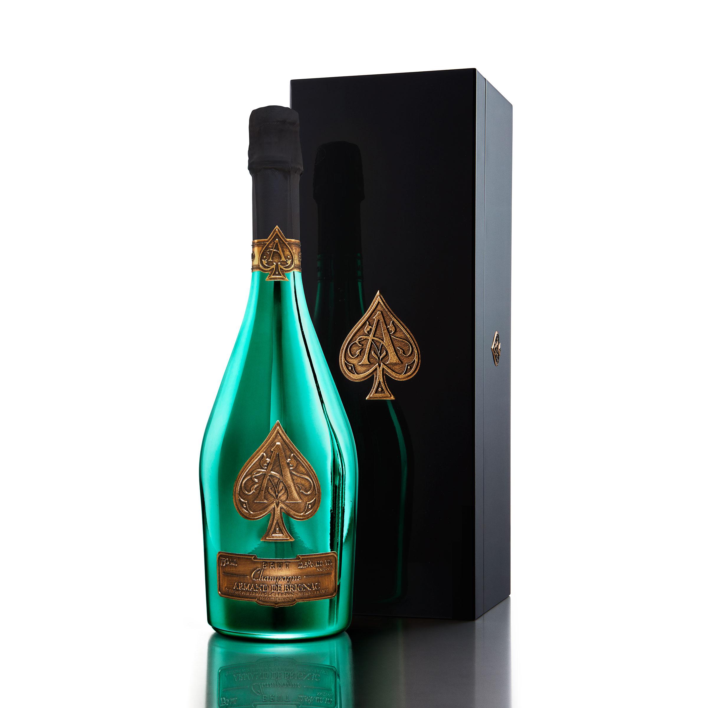 Armand de Brignac 75cl Limited Edition Green Bottle