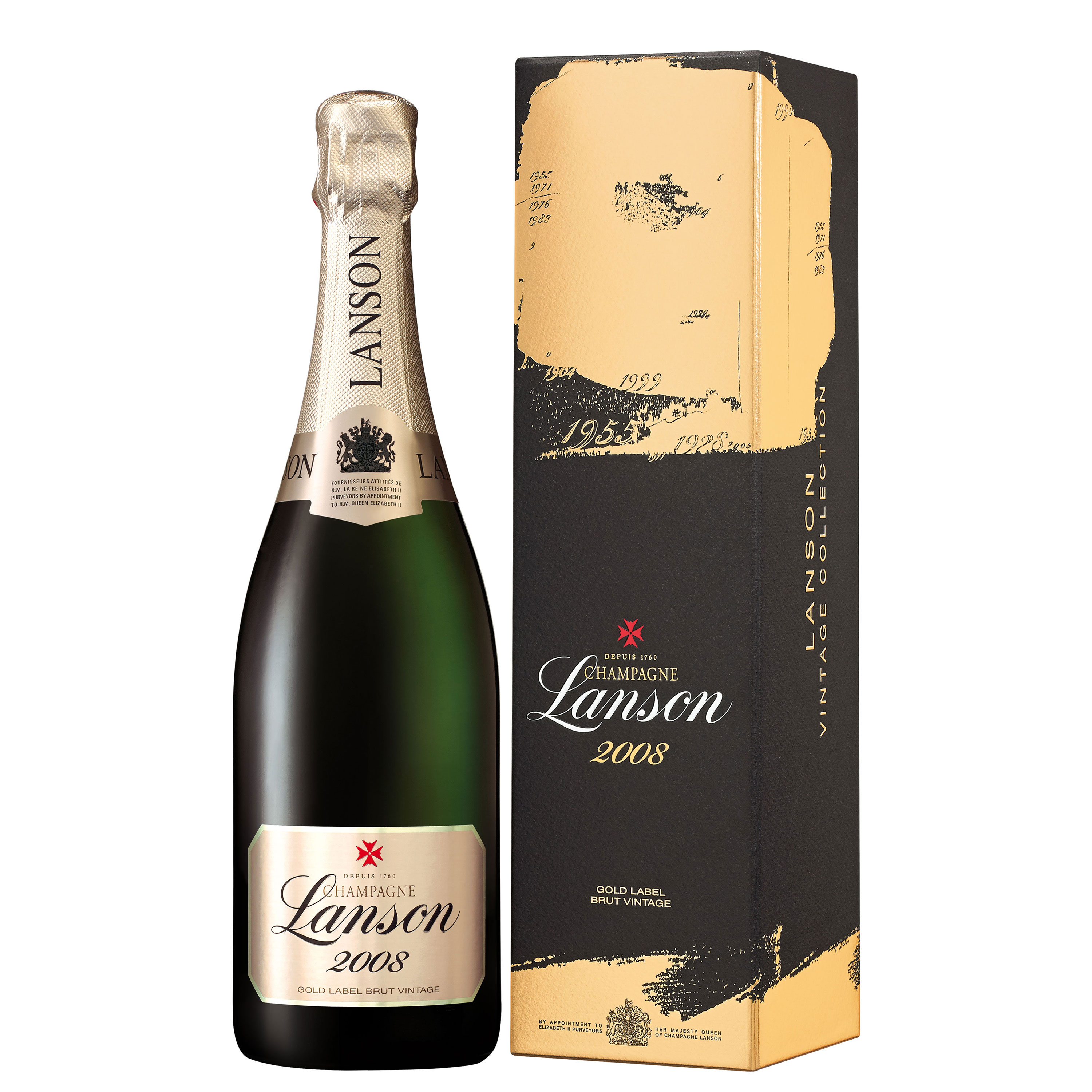 It's just an image of Sly Lanson Champagne Gold Label 2005