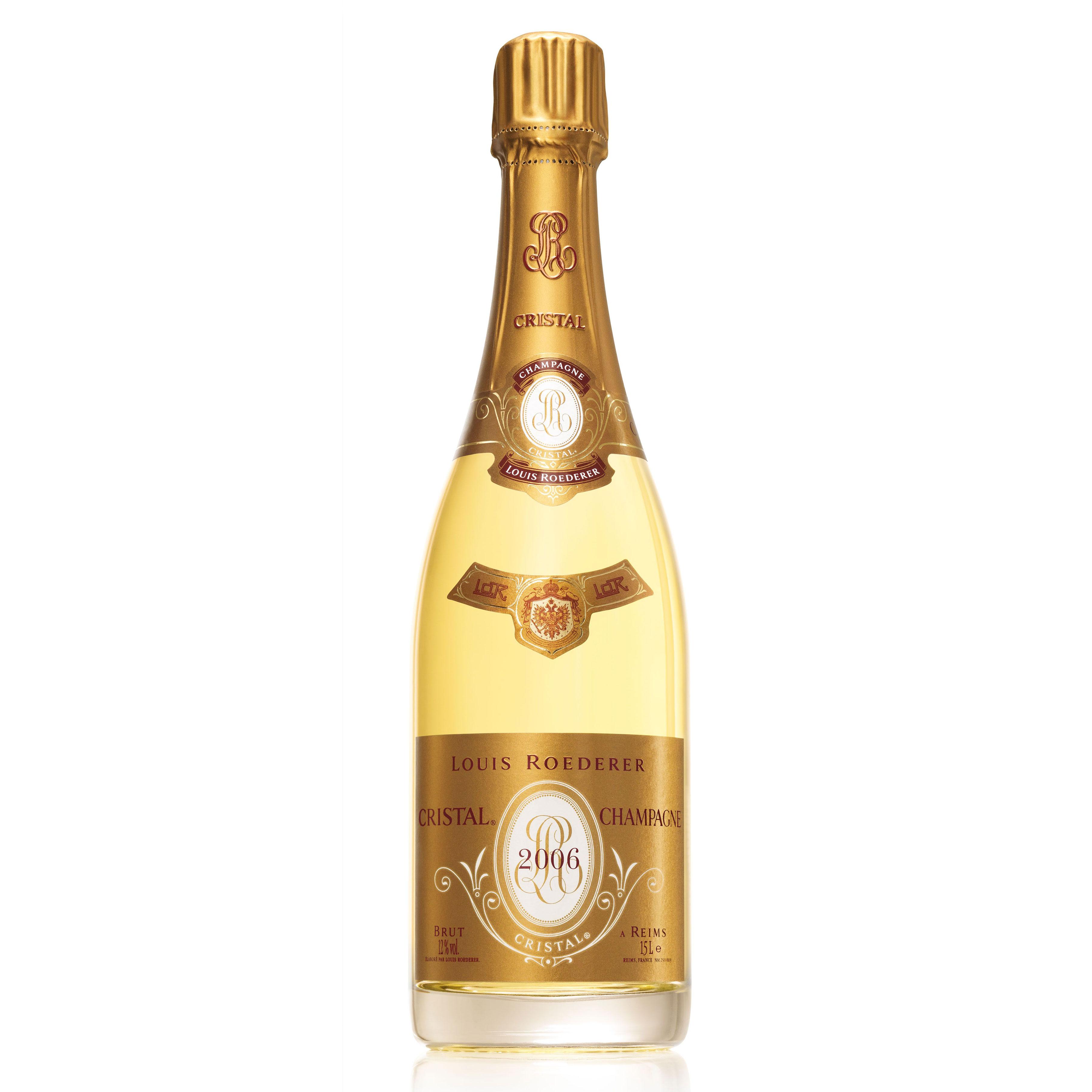 buy a magnum of louis roederer cristal 2009 champagne champagne king. Black Bedroom Furniture Sets. Home Design Ideas